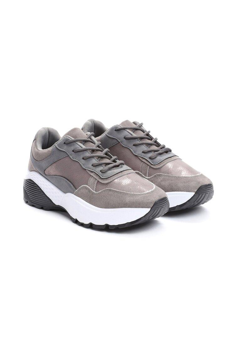 Szare Sneakersy Moonchild