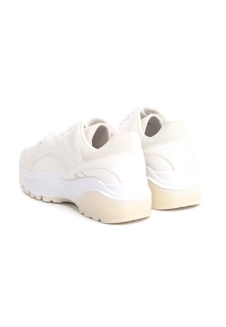 Białe Sneakersy Backyard