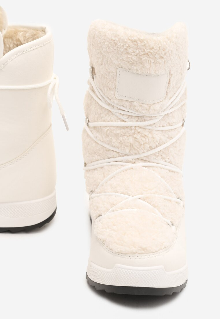 Białe Śniegowce Snow Globe