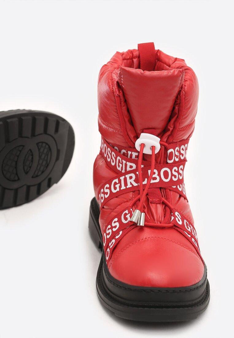 Czerwone Śniegowce Winterweight