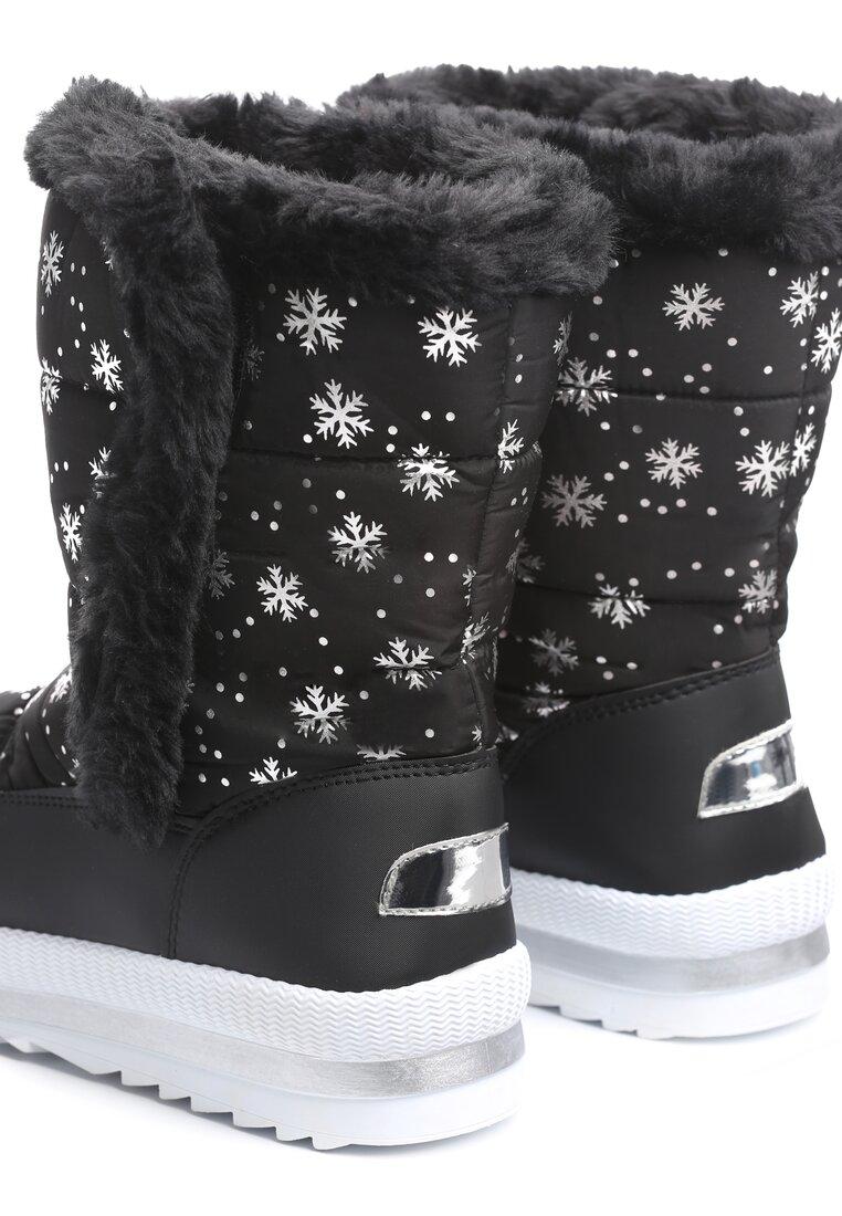 Czarne Śniegowce Twin