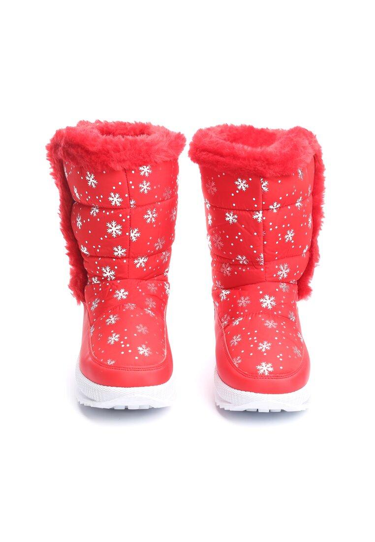 Czerwone Śniegowce Twin
