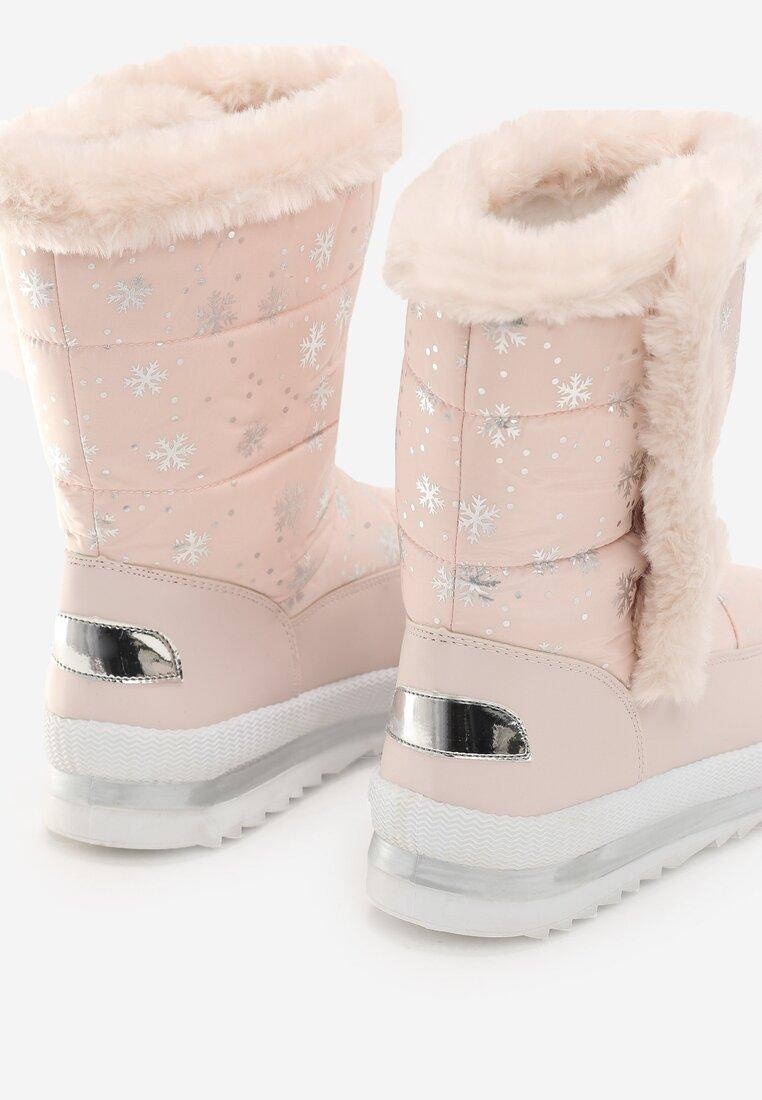 Różowe Śniegowce Twin