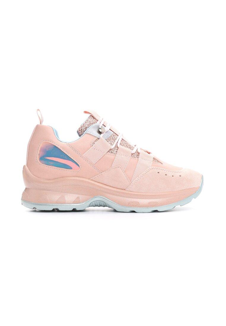 Różowe Sneakersy Militant