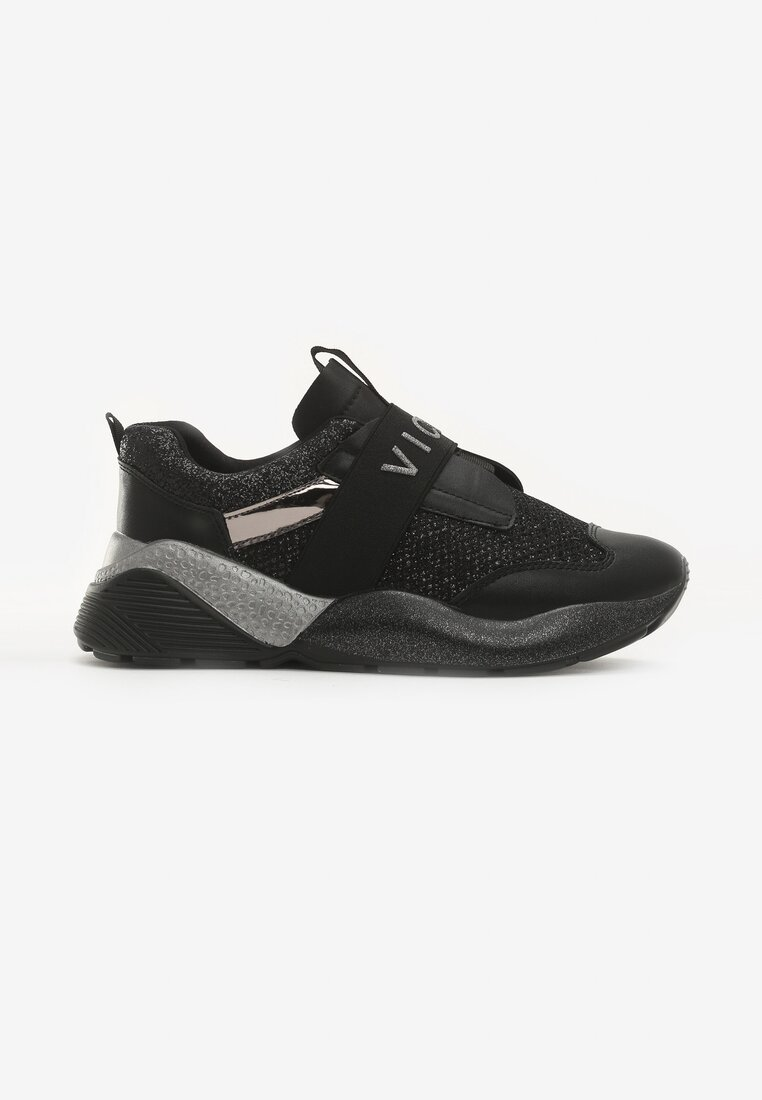 Czarne Sneakersy Unabashed