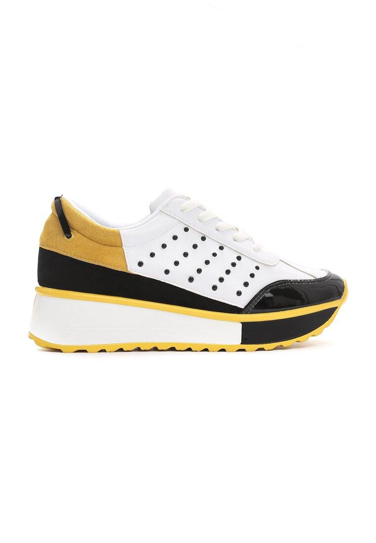 Białe Sneakersy Doughty