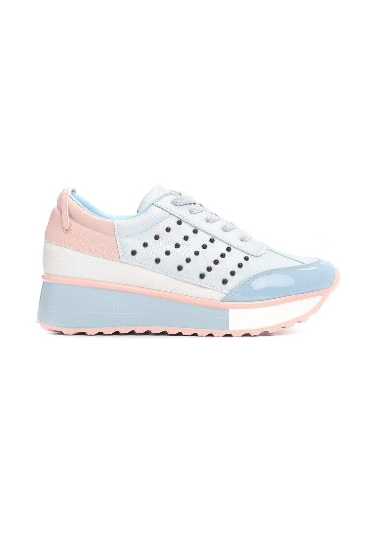 Niebieskie Sneakersy Doughty