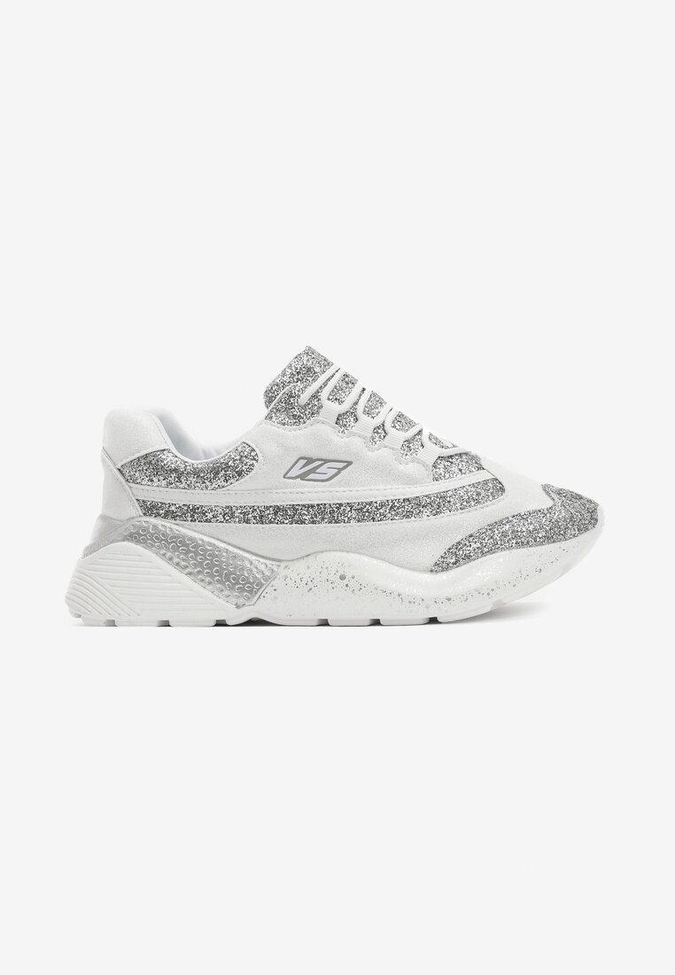 Białe Sneakersy Big World